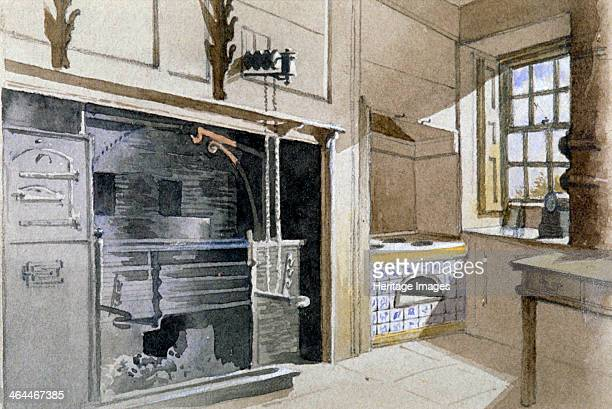 Kitchen range and Dutch oven no 21 Austin Friars Street City of London 1885