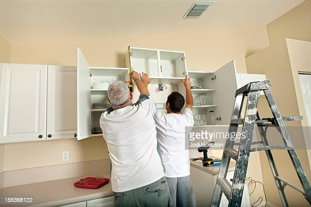 Kitchen remodeling cabinet installation
