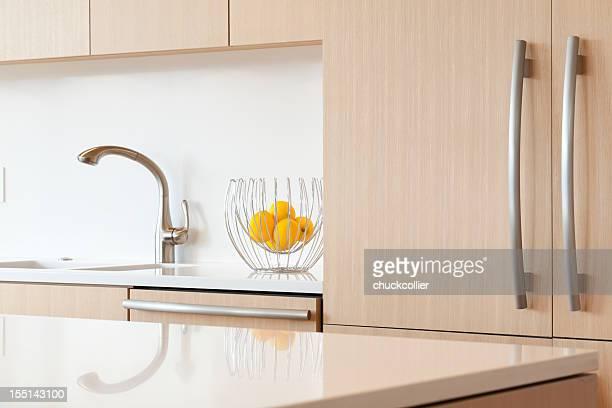 Kitchen Sink and Refrigerator
