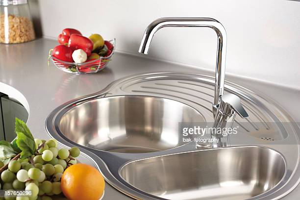 Kitchen Sink Stock Photos and Pictures | Getty Images
