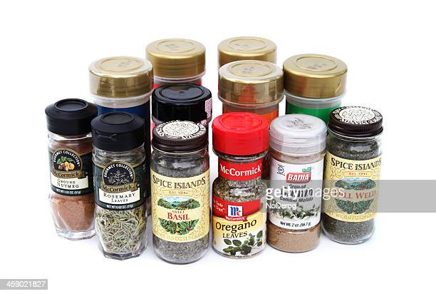 Kitchen spices and herbs