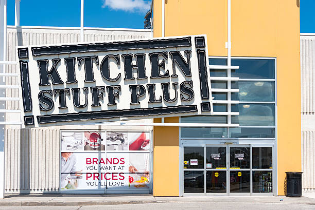 kitchen stuff plus store entrance sign kitchen stuff plus is a canadian owned and operated - Kitchen Stuff Plus