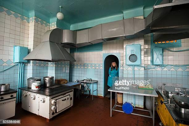 Kitchen Teterivka's Orphanage and Boarding school Zhytomyr Ukraine 2 of February 2015 Photo by Oleksandr Rupeta
