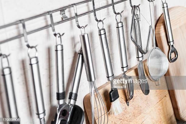kitchen tools - küchenzubehör stock-fotos und bilder