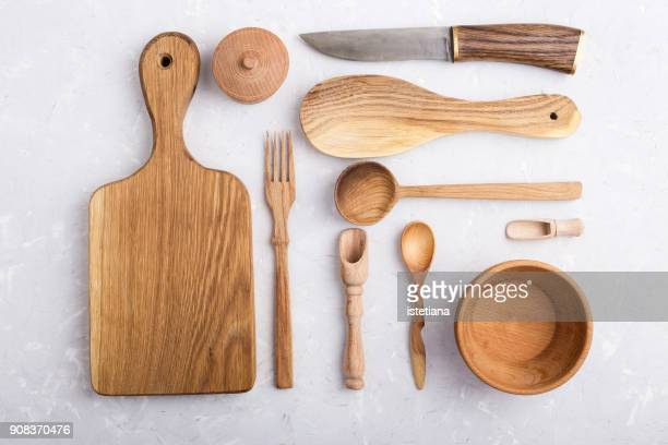 Kitchen utensils knolling style