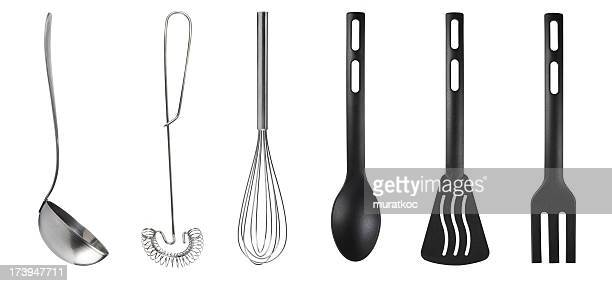 kitchen utensils - cooking utensil stock photos and pictures