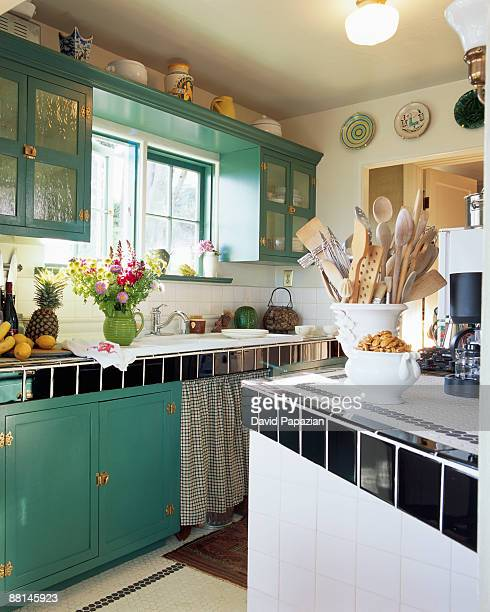 32 Turquoise Kitchen Cabinets Photos And Premium High Res Pictures Getty Images