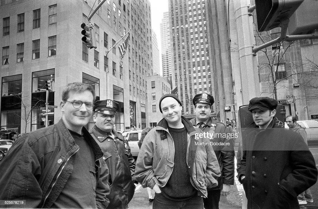Kitchens Of Distinction, Group Portrait, New York, United States, 1991.  Patrick
