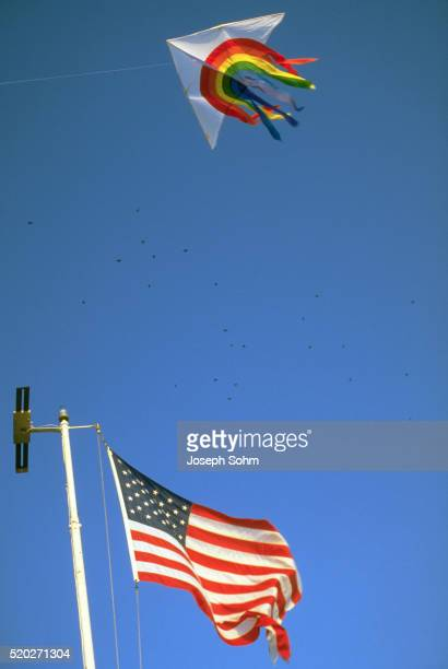 Kite and Flag