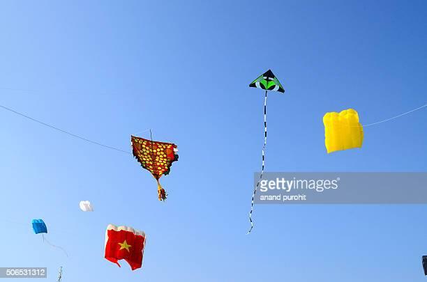 Kite Festival - 2016, Ahmedabad, Gujarat, India