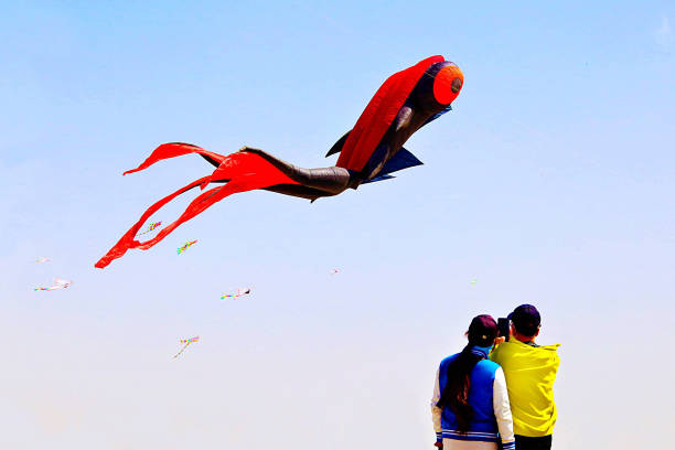 CHN: Kite Competition In Zhangye