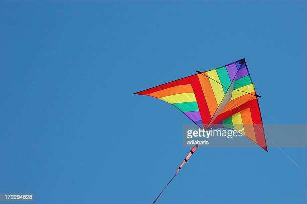 kite - kite toy stock pictures, royalty-free photos & images