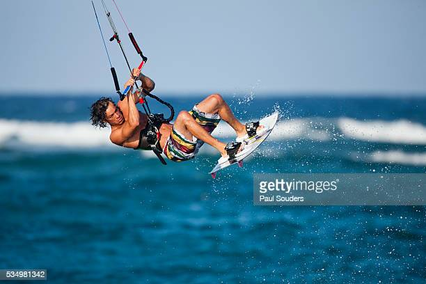 Kite surfer in Dominican Republic