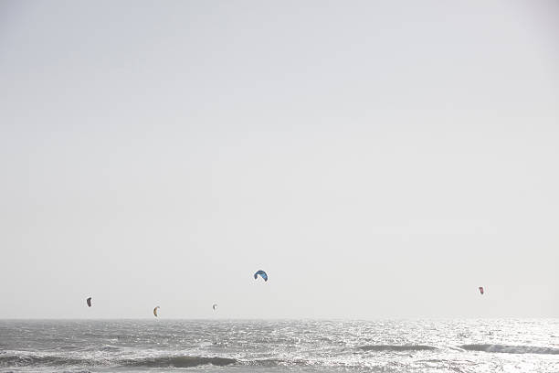 Kite Surfers on California's Highway 1
