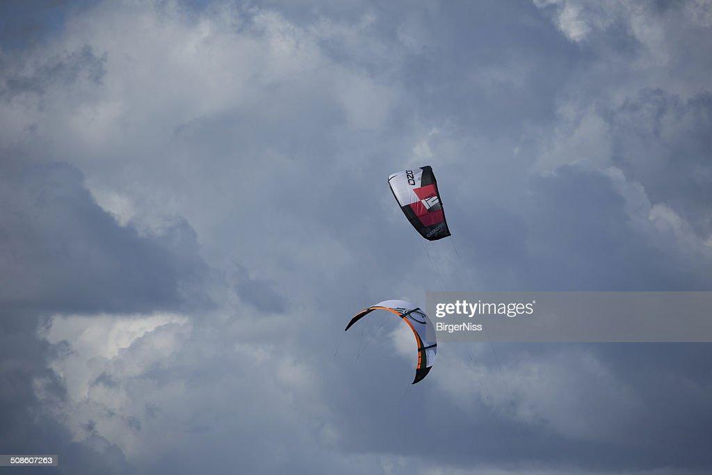 Kite surfing : Stock Photo