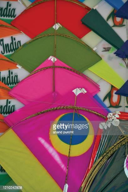 kites - makar sankranti stock pictures, royalty-free photos & images