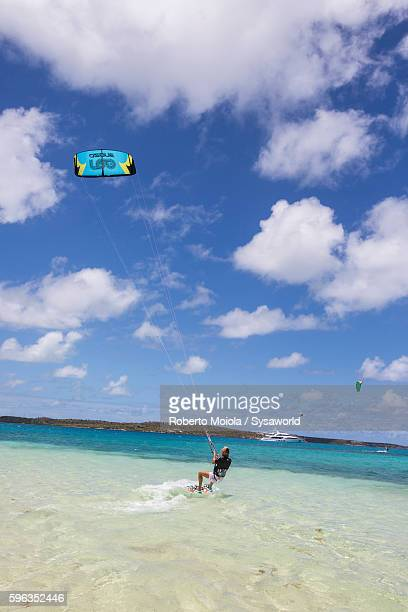 Kitesurfing Green Island Antigua and Barbuda