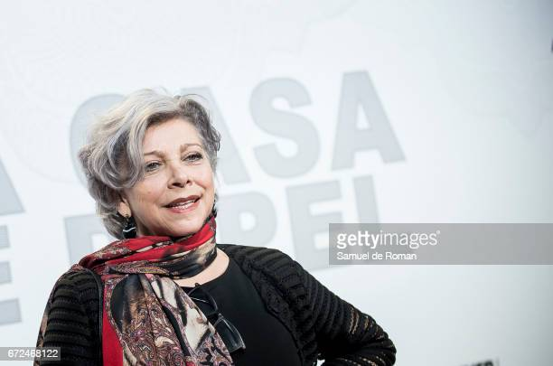 Kiti Manver attends 'La Casa de Papel' Madrid Premiere on April 24 2017 in Madrid Spain