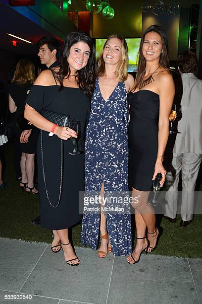 Kiti McKinney Amber Gregory and Megan Abrigo attend Discover Many Hopes Gala 2016 at 180 Maiden Lane on May 23 2016 in New York City