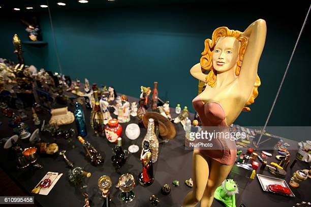 Kitsch, vintage and quirky items from Thessalonikis mayor Yiannis Boutaris personal collection, Athens, Greece, Sep 28, 2016