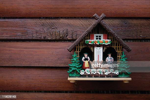 Kitschige deutsche Wetter house