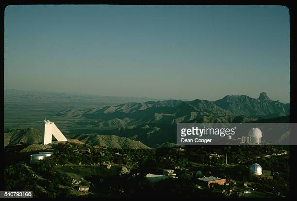 Kitt Peak National Observatory and Quinlan Mountains