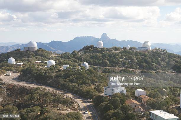Kitt Peak National Observatory Arizona A field of telescopes dots the summit of Kitt Peak on the Tohono Oodham First Nation reservation in Sells Ariz...