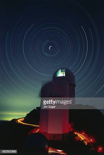 Kitt Peak National Observatory at Night