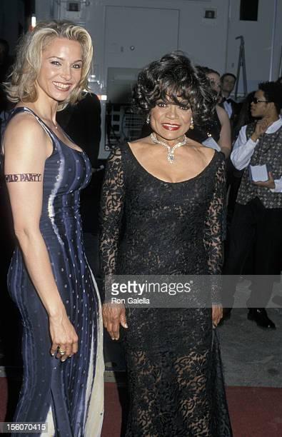 Kitt Shapiro and Eartha Kitt during 54th Annual Tony Awards at Radio City Music Hall in New York City New York United States
