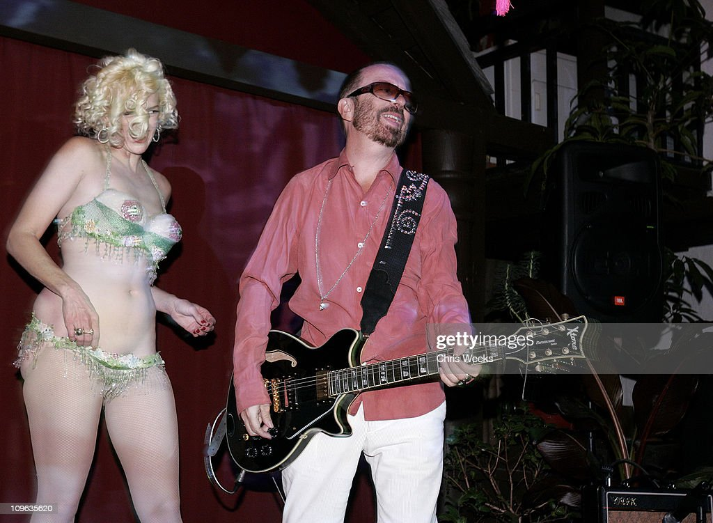 Kitten DeVille and Dave Stewart during Dave Stewart Hosts the Unveiling of Coco de Mer Boutique - Inside at Coco de Mer in West Hollywood, California, United States.
