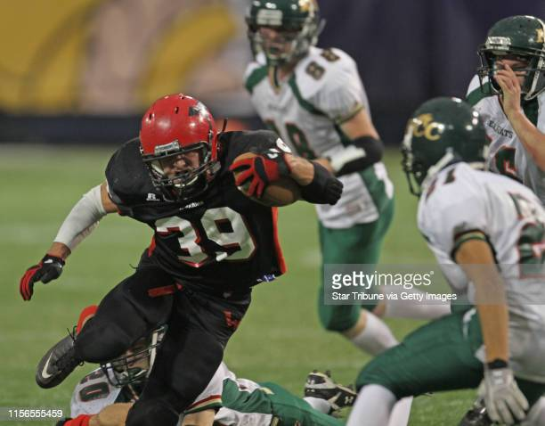 Kittson County Central vs WheatonHermanNorcross in 9Man semifinal game at the Dome 11/19/11 WheatonHermanNorcross Wolfgang Brink picked through the...