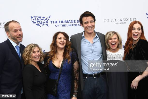 Kitty Block Joely Fisher Goran Visnjic Kristin Bauer van Straten and guests attend The Humane Society Of The United States' To The Rescue Los Angeles...