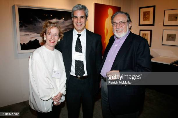 Kitty Bowe Hearty James Danziger and Larry Schiller attend Gala preview of the AIPAD PHOTOGRAPHY SHOW at THE PARK AVENUE ARMORY at Park Avenue Armory...
