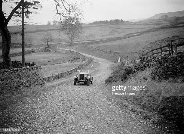 Kitty Brunell road testing a MG 18/80, April 1931. MG 18/80 2468 cc. Vehicle Reg. No. JO530. Driver: Brunell, Miss. K. Place: Road test. Date: Apr...