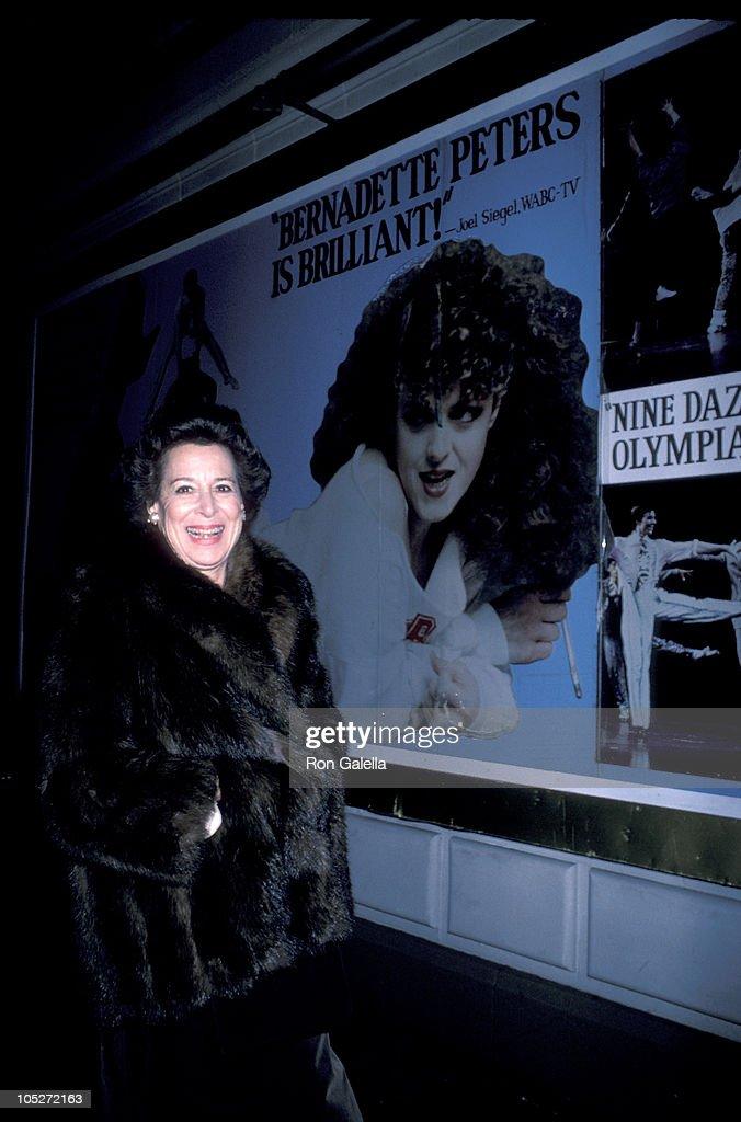 Kitty Carlisle Hart Sighting on Broadway
