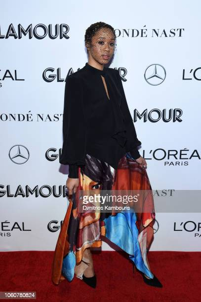 Kitty Cash attends the 2018 Glamour Women Of The Year Awards Women Rise on November 12 2018 in New York City