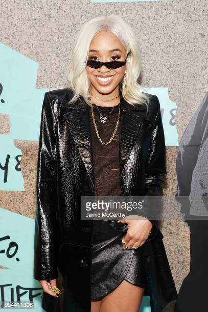 Kitty Cash attends the Tiffany Co Paper Flowers event and Believe In Dreams campaign launch on May 3 2018 in New York City
