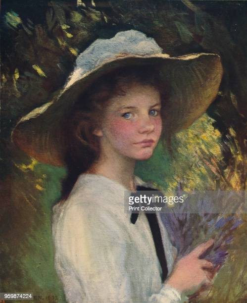 Kitty' circa 1915 From International Art Past and Present by Alfred Yockney [Virtue Company London circa 1915] Artist George Clausen