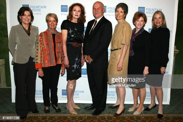 Kitty de Chazal Anne Mai Pat Begley Kenn Dudek Alexandra Herzan Lynn Nicholas and Lorna Hyde Graev attend FOUNTAIN HOUSE Symposium and Luncheon at...