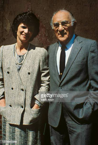 Kitty Dukakis and her father, conductor Harry Ellis Dickson, campaign for his son-in-law Governor Michael Dukakis's presidential campaign in Miami...