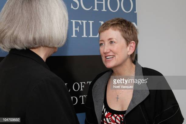"""Kitty Felde attend the UCLA Film and Television Archive screening of """"Gerrymandering"""" on October 3, 2010 in Los Angeles, California."""