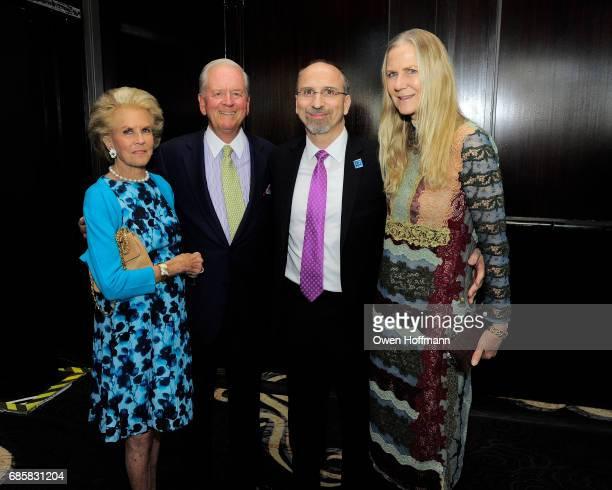 Kitty McKnight Phil McKnight Stephen Tosh and Gigi Mortimer attend The Boys' Club of New York Annual Awards Dinner at Mandarin Oriental on May 17...