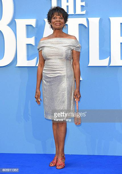 Kitty Oliver arrives for the World premiere of 'The Beatles Eight Days A Week The Touring Years' at Odeon Leicester Square on September 15 2016 in...