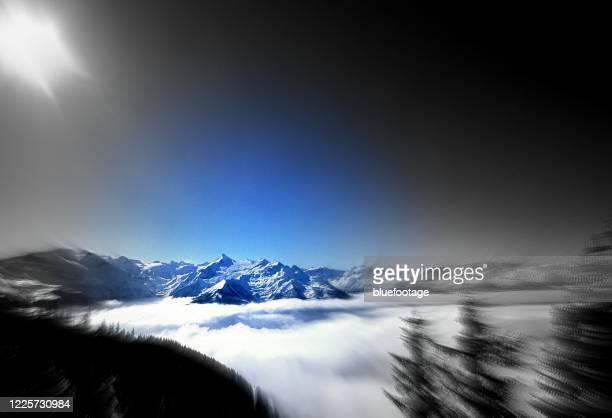 kitzsteinhorn, austria - bluefootage stock pictures, royalty-free photos & images