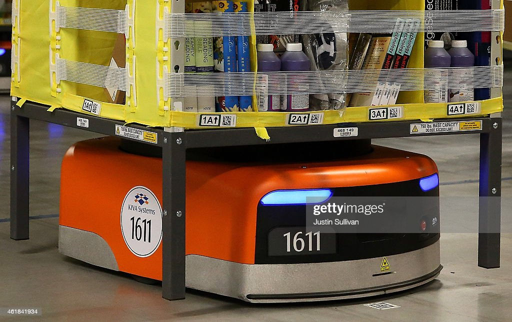 Grand Opening Of Amazon Fulfillment Center Features State Of The Art Technology : News Photo