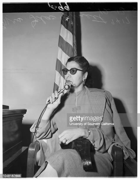 Kivlin inquest 13 December 1951 Margaret Mattier roommate of deceasedFred YaegerDoctor Charles Ahrens of Long BeachDoctor Roland J PerlmutterWilliam...