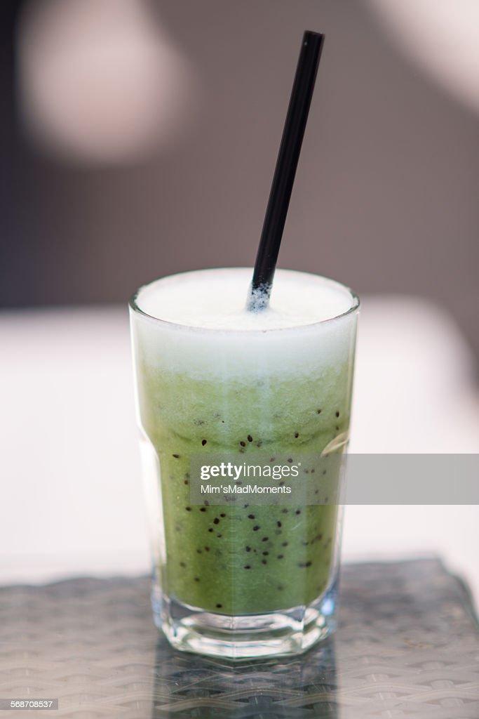 Kiwi juice : Stock Photo