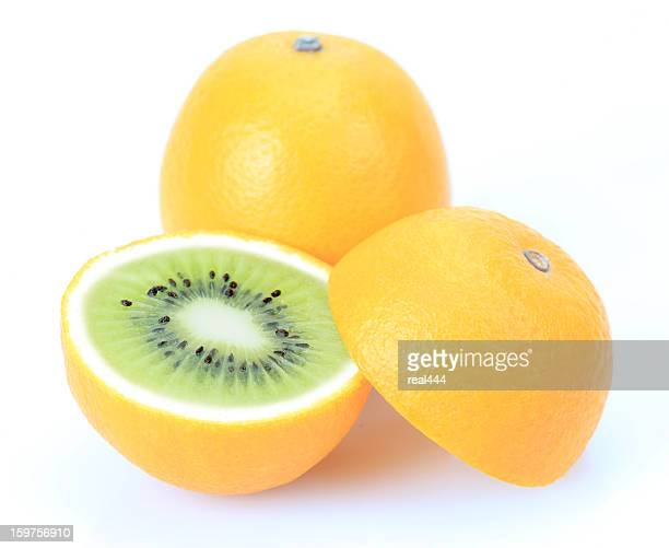 Kiwi oder orange