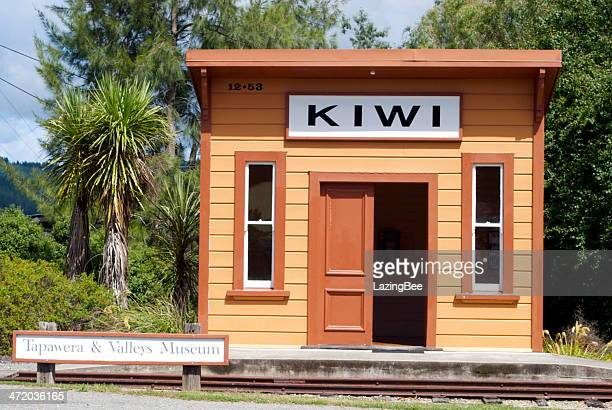 Kiwi Railway Station, Tapawara, New Zealand