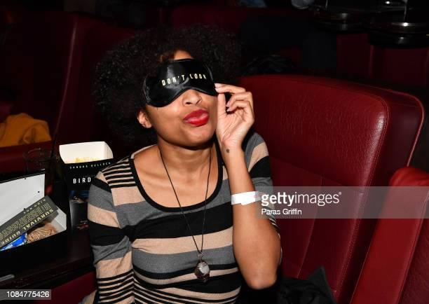 Kiwi The Beauty attends Bird Box Atlanta screening at Cinebistro Town Brookhaven on December 19 2018 in Atlanta Georgia